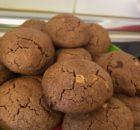 Galletas de tres chocolates