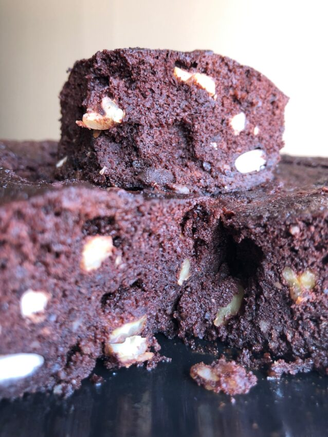 Brownie de alubias negras